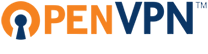 Ovpntech logo-s REVISED, par OpenVPN Technologies, Inc., CC BY-SA 3.0 non transposée